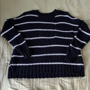 "American Eagle Striped ""Chunky"" Sweater EUC"